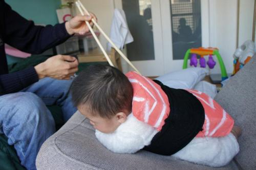 Japanese baby sushi costume sushi pillow japanese pillow